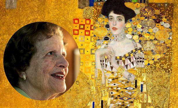 Maria Altmann pakeni miehensä kanssa natseja USA:han, mutta maalaus tädistä jäi Itävaltaan.