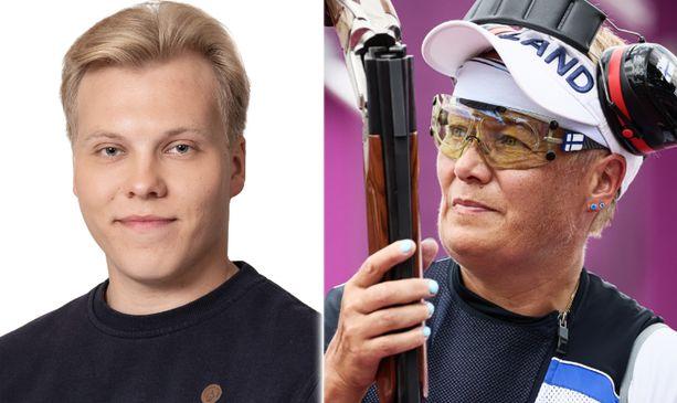 20-vuotias Patrik on olympiavoittaja Satu Mäkelä-Nummelan poika.