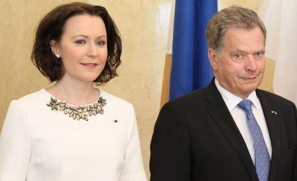 Rouva Jenni Haukio ja tasavallan presidentti Sauli Niinistö tekivät kaksi viikkoa sitten valtiovierailun Viroon.