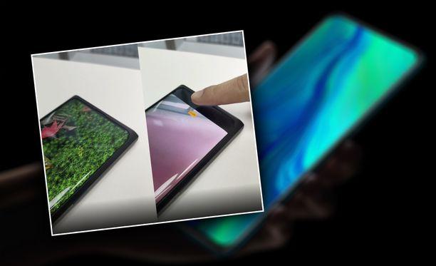 Oppo esitteli prototyyppipuhelinta videolla.