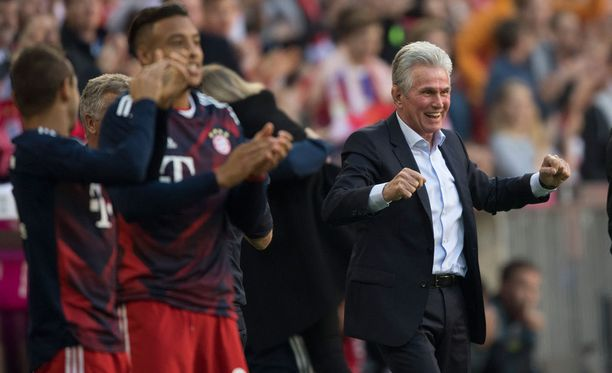 Bayern-penkin päähän palannut Jupp Heynckes avasi nykypestinsä tyylipuhtaalla voitolla.