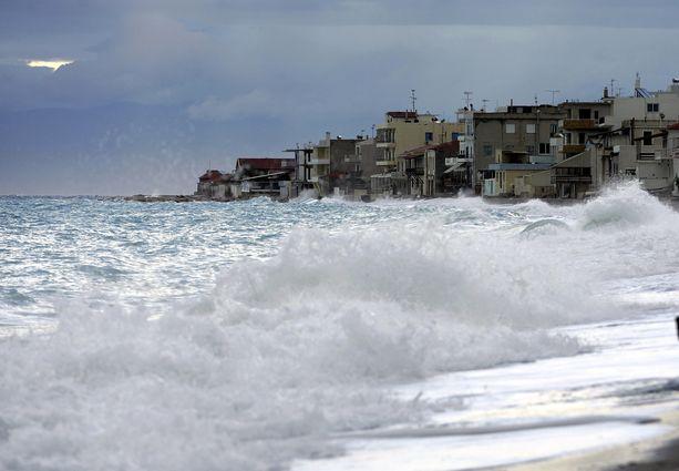 Merenpinta nousee vääjäämättä niin, että vuoteen 2100 mennessä noin 250 miljoonaa ihmistä joutuu jättämään kotinsa. Kuvituskuva.
