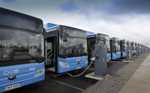 Kiinalaisia sähköbusseja rullaa pääkaupunkiseudun teille ensi viikolla