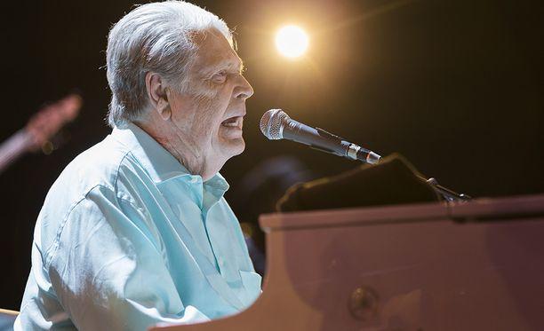 Brian Wilson esiintyi Sveitsissä Jazz-festivaaleilla muutama päivä sitten.