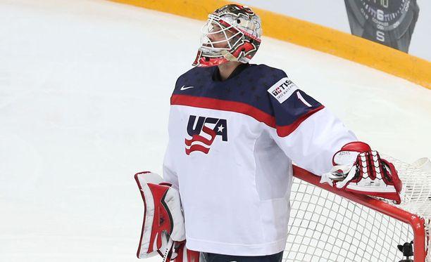 Keith Kinkaid on New Jersey Devilsin veskari.