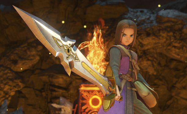 Dragon Quest XI tarjoaa tutkittavaksi upean fantasiamaailman.