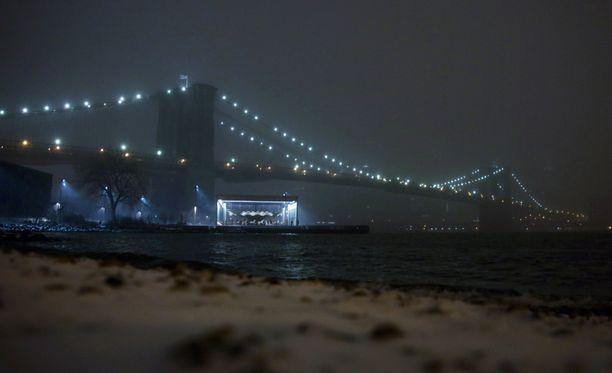 New Yorkin seudulle on luvassa reippaasti lunta.