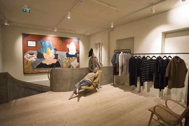 Samujin liike suomalaisen muodin keskus Gardenissa vuonna 2018.