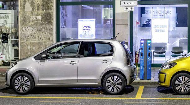 Volkswagen e-Up on nyt myynnissä olevan Seat Mii Electricin sisarmalli.