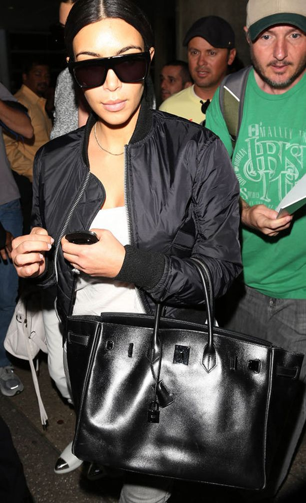 Kim Kardashian ja Hermès So Black Birkin