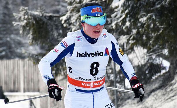 Krista Pärmäkosken menestysmahdollisuuksille Tour de Skin kokonaiskilpailussa keskiviikon etapin peruuntuminen myrskyn takia oli huono asia.