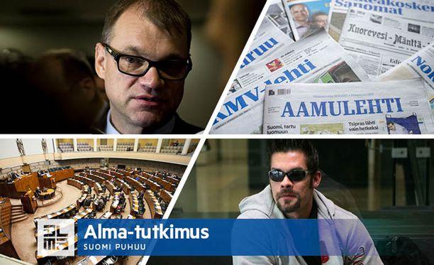 Instituutioiden ja auktoriteettien asema on rapautunut viimeisten vuosikymmenten aikana, arvioi akatemiatutkija Juha Herkman.