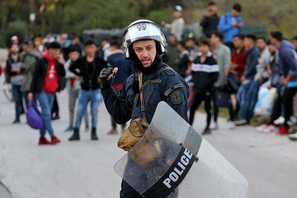 Kreikka pyrkii estämään rajanylitykset eikä se ota vastaan turvapaikkahakemuksia.