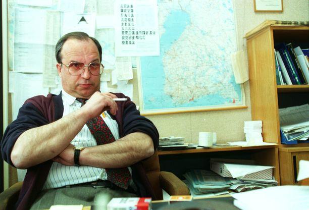 Matti Kurko teki pitkän lehtimiesuran.