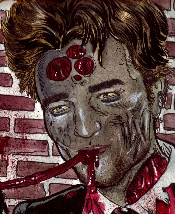 Robert Pattinson zombiena.