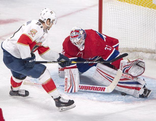 Antti Niemi torjui peräti 52 kertaa, kun Canadiens löi Florida Panthersin 5-1.