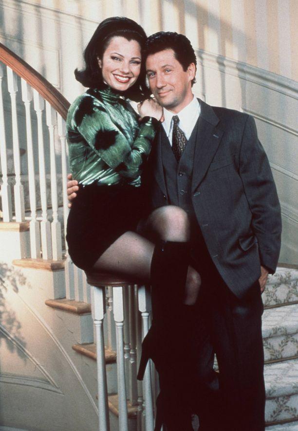 Nanny-sarjan päätähdet vuonna 1993.
