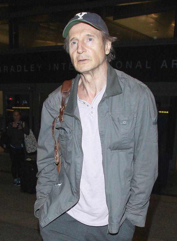 Liam Neesonin viimekesäinen look kohautti.