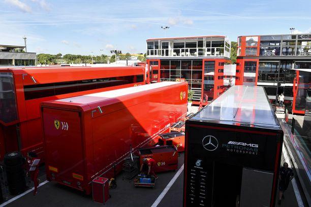 F1-kisaviikonloppua ei rakenneta hetkessä.