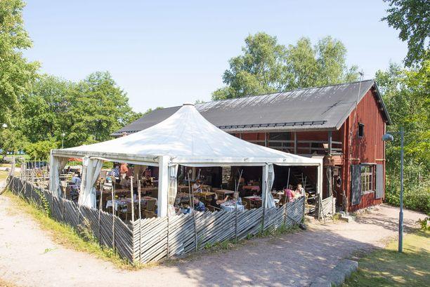 Suuri osa ravintola Savun asiakkaista on turisteja.