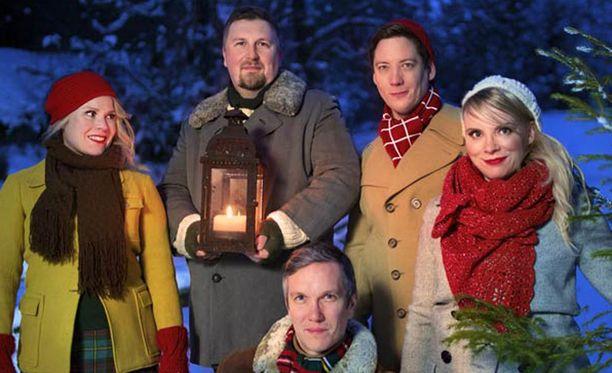 Club for Five on joulutunnelmissa.