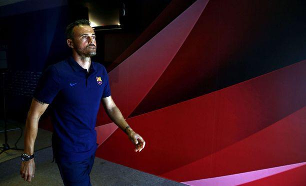 Luis Enrique napsii voittoja nopeaan tahtiin Barcelonan peräsimessä.