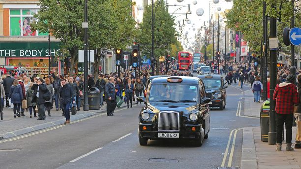 Osana tutkimusta koehenkilöt tekivät Lontoossa kahden tunnin kävelylenkin tiheästi liikennöidyllä Oxford Streetillä sekä Hyde Park -puistossa.