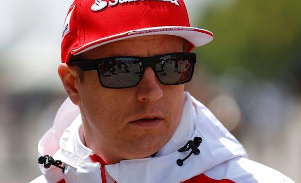 Kimi Räikkönen sijoittui Kiinassa viidenneksi.