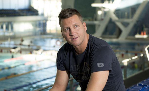 Jani Sievinen voitti olympiahopeaa 200 metrin sekauinnissa vuonna 1996.