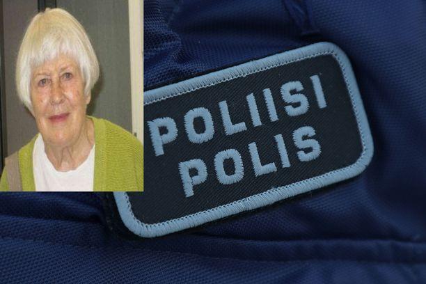Poliisi etsii Espoossa kadonnutta naista.