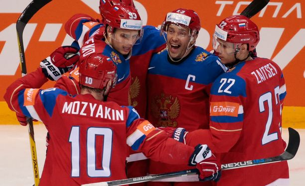Venäjä juhli pronssipelissä.