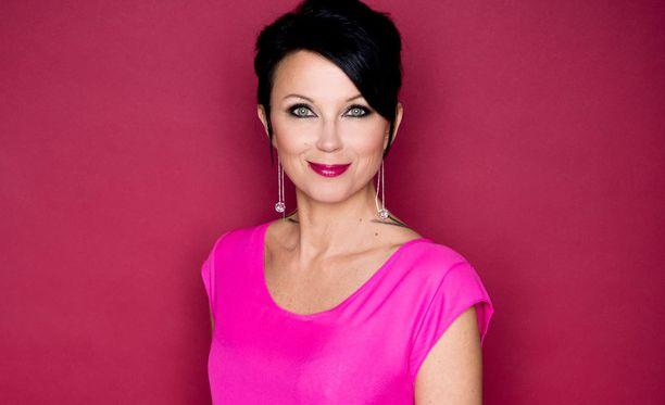 Katariina Souri oli yksi osallistujista perjantaina Tampereella järjestetyssä talk show'ssa.
