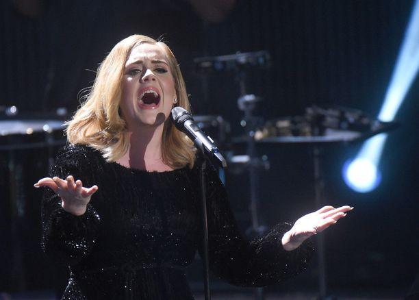 Adele on viettänyt hyvän loman.