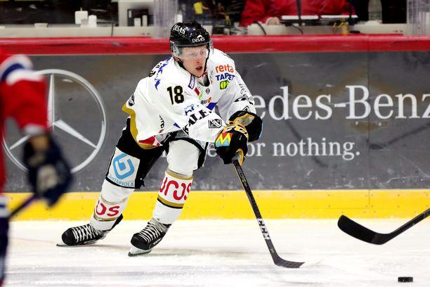 Sami Anttila tekee pudotuspeleissä aivan eri tahtia tehoja kuin runkosarjassa.