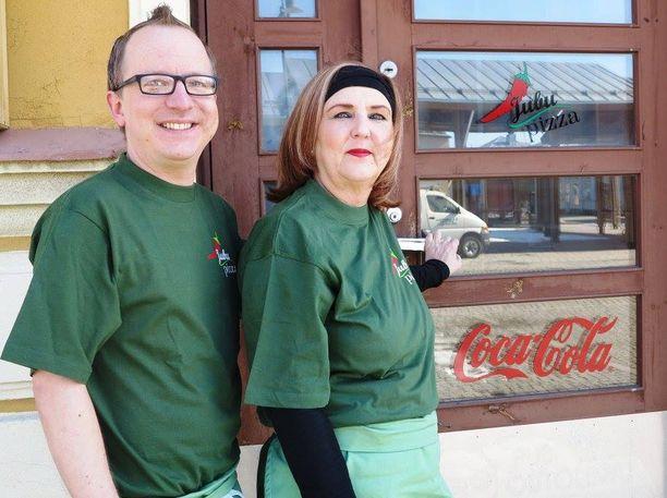 Jukka ja Anne Nordlundin pyörittämä Jubupizza on perheyritys.