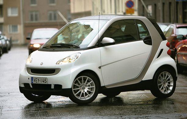 NOTKEA Smart on todennäköisesti ketterin auto mitä markkinoilta löytyy.