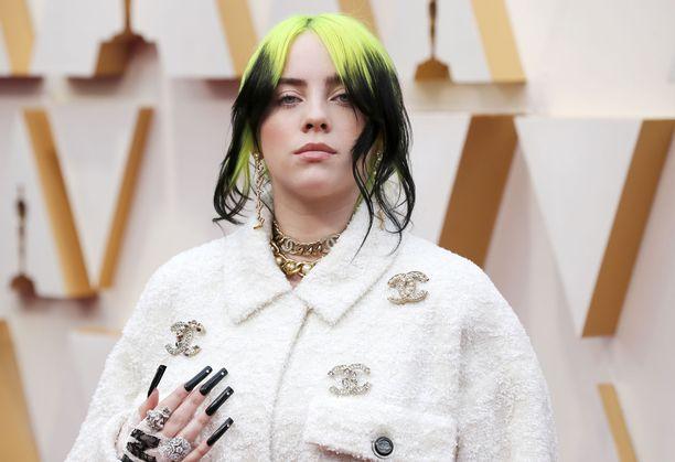 Billie Eilish on noussut viime vuosien aikana suureen suosioon.
