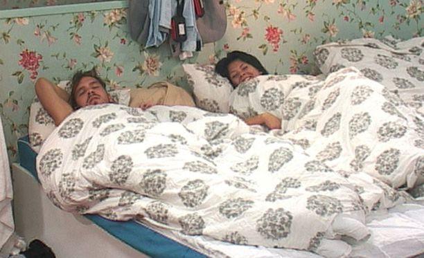 Dani ja Jenna rakastuivat Big Brother -ohjelman kuvauksissa.