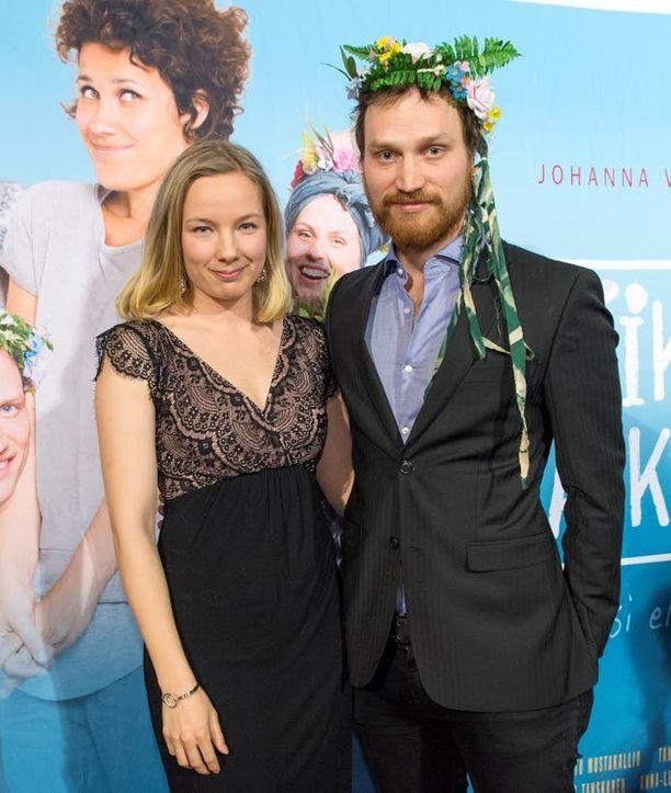 Henna ja Lauri Tanskanen ovat näytelleet myös yhdessä.