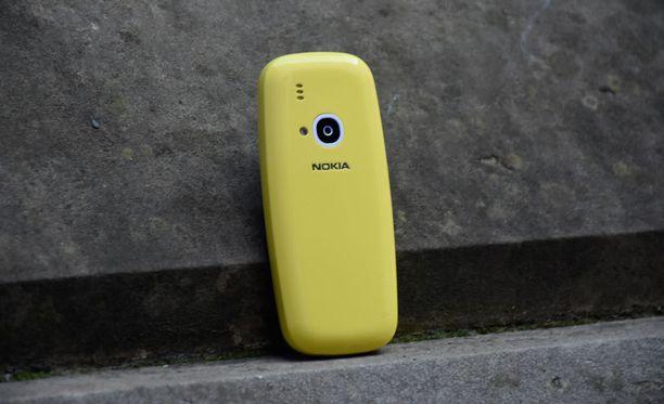 Uusi Nokia 3310 on alkuperäistä versiota pyöreämpi.