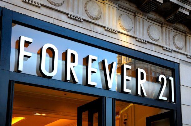 Forever 21 on ollut monien nuorten suosikkiostospaikka.