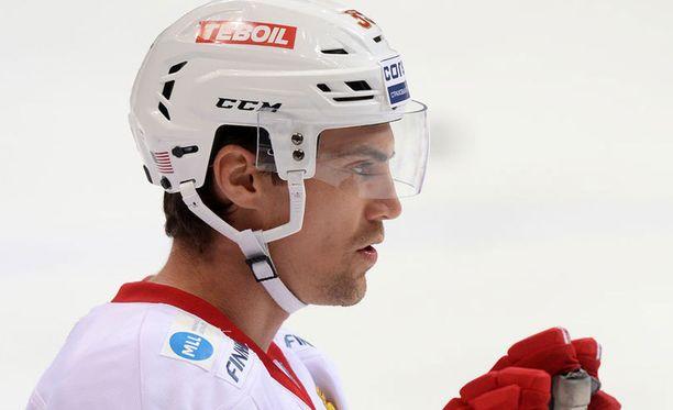 Mike Lundin pelaa ensimmäistä kauttaan Jokereissa ja yhteensä neljättä KHL:ssä.