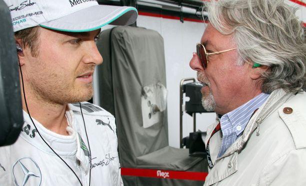 Nico Rosbergin lopettamispäätös tuli Keke-isälle pommina.