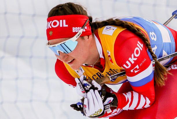 Julia Belorukova menetti totaalisesti malttinsa Quebecin sprintissä.