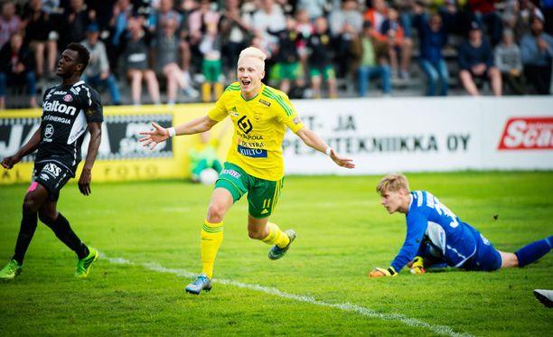 Ilveksen Mikael Soisalo pelasi läpimurtokauden.