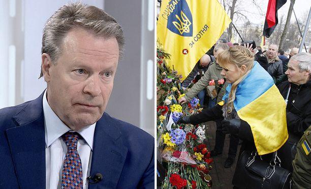 Ilkka Kanervan mukaan Ukrainan kriisiin on mahdollista löytää ratkaisu.