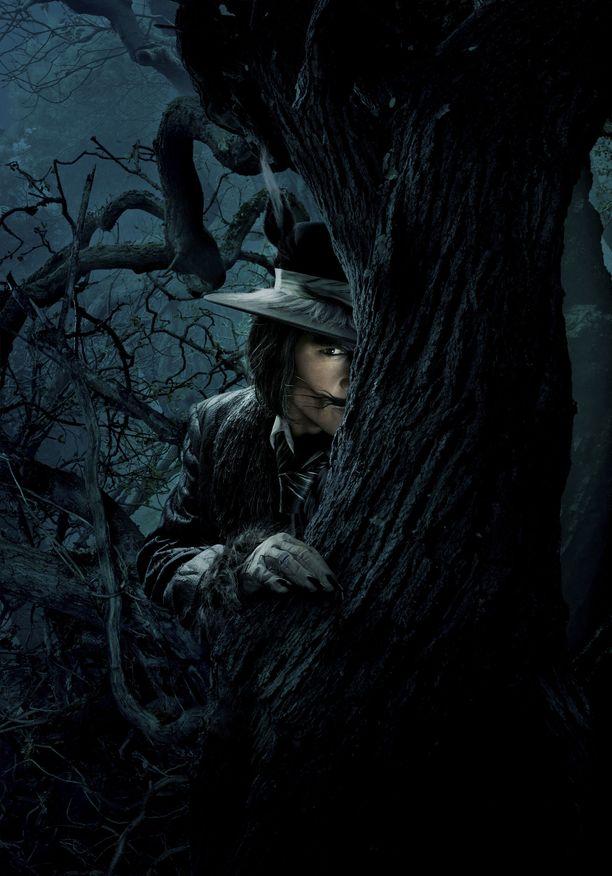Johnny Depp on tunnettu mystisistä rooleistaan.