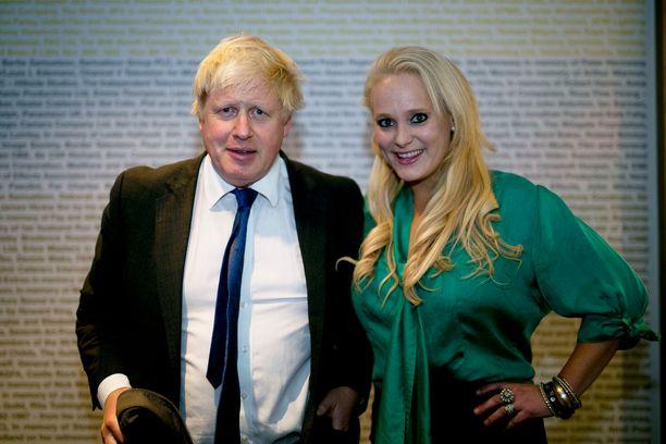 Boris Johnsonja Jennifer Arcuri.