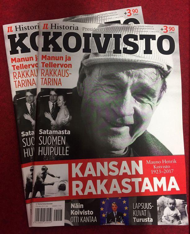 Presidentti Koivisto -erikoislehti kertoo Suomen yhdeksännen presidentin elämäntarinan.