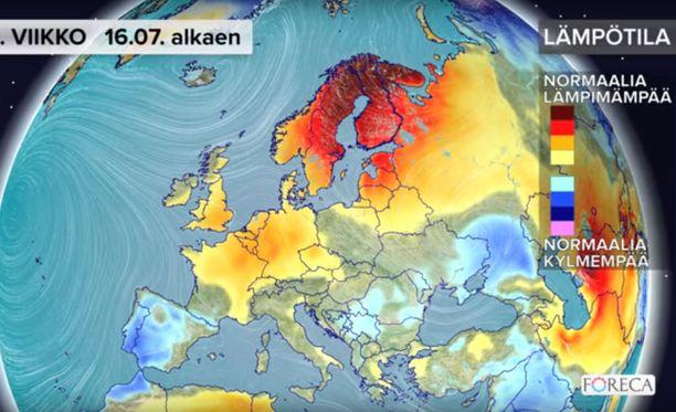 Suomi on kuin grillikupolissa.